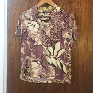 Jams World Hawaiian print short Aloha Shirt